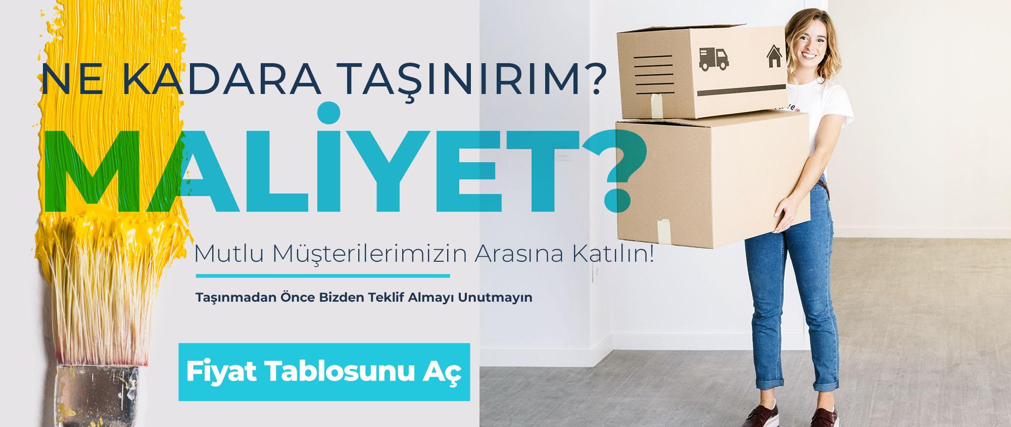 İstanbul Evden Eve Nakliye Fiyatları